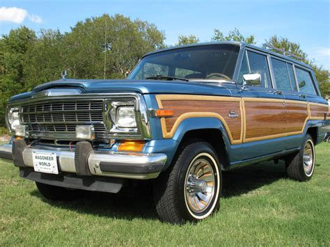 1986 Jeep Grand Wagoneer 1986 Jeep Grand Wagoneer Pictures Cargurus