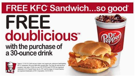 free printable restaurant coupons usa kfc 10 piece meal coupons kfc coupons