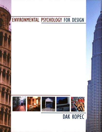 environmental psychology for design books environmental psychology for design dak kopec fairchild