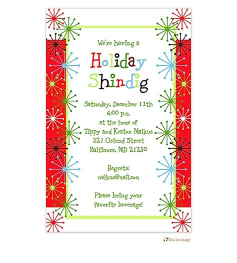 christmas invite ryhmes invitation wording cimvitation