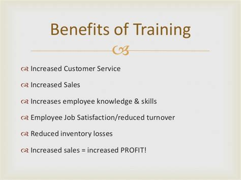 training proposal power point