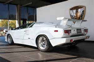 1990 Lamborghini Price 1990 Lamborghini Countach 25th Anniversary White For Sale