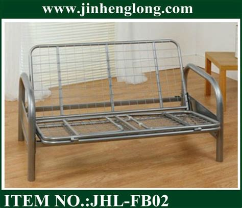 metal frame futon sofa bed metal frame with futon sofa bed buy metal frame with