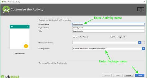 activity layout how to create new start new activity how to create new activity in android studio