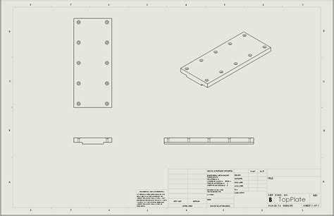 Adding Solidworks Predefined Views To Drawing Templates Solidworks Drawing Template