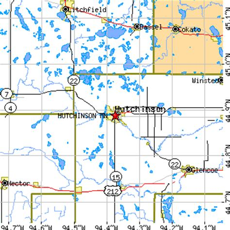 Where Is Hutchinson Minnesota Hutchinson Minnesota Mn Population Data Races