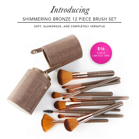 Bh Cosmetics Shimmering Bronze bronze makeup brushes saubhaya makeup