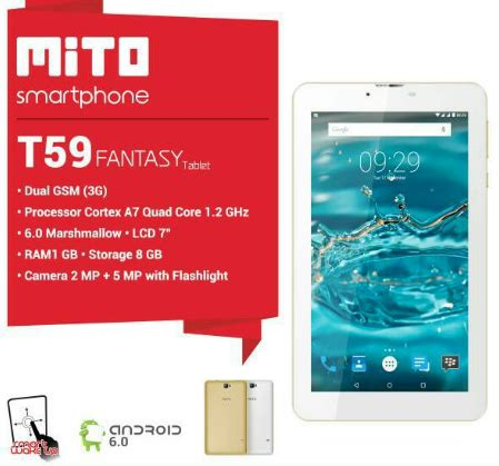 Mito T59 firmware mito t59 pac tablet just about android