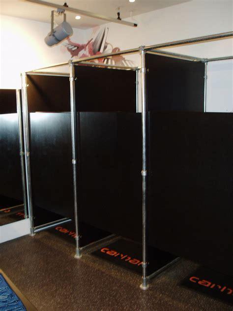 pvc pipe dressing room retail clothing racks stylish easy to configure racks that help you sell