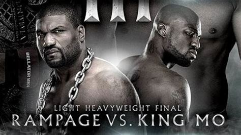 Rage Jackson Vs King Mo Rage Jackson Vs King Mo Lawal Tournament Featured On Bellator S May 17 Pay Per View