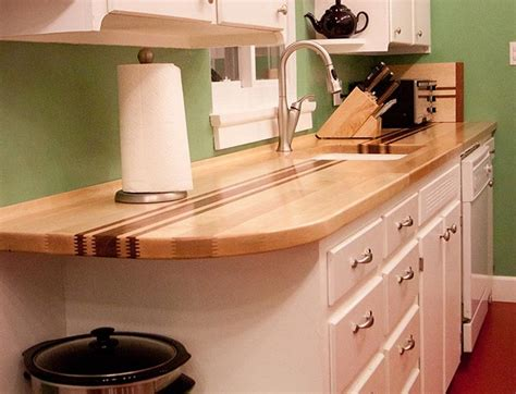 Butcher Block Bar Tops by Pinandscroll