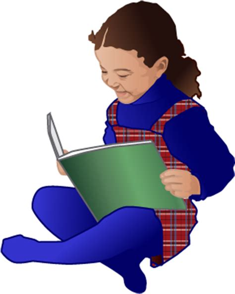 reading books pictures reading a book clipart clipart best