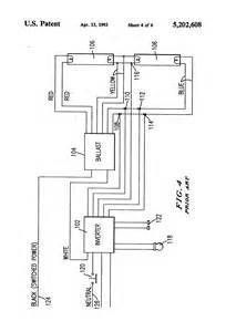 patent us5202608 emergency lighting system utilizing improved and rapidly installable