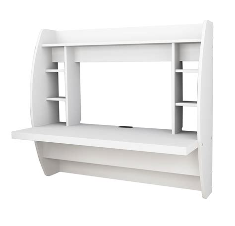 homeofficedecoration wall mounted desk white