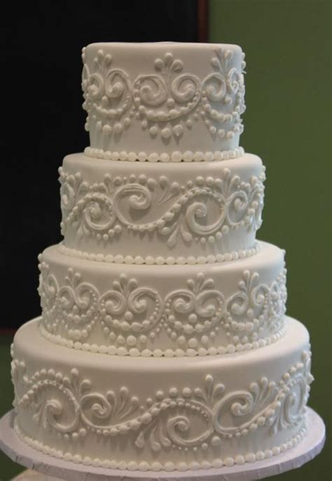 Robin 3 Tier Piped Wedding 25 Best Ideas About Scroll Wedding Cake On