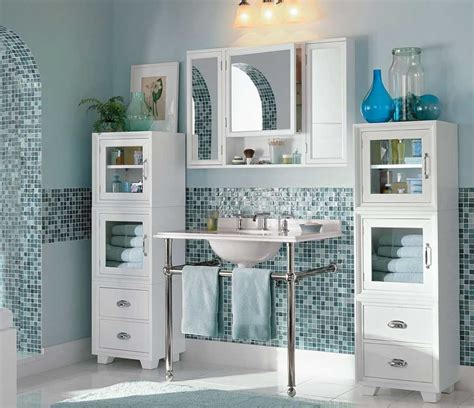 pottery barn bathroom ideas pottery barn bathroom mirror with cabinet storage home