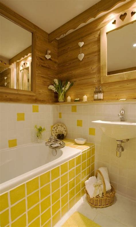 yellow tile bathroom ideas yellow tile bathroom decorating ideas 2 wall decal