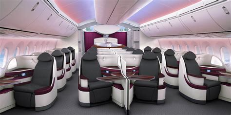 Boeing 787 Dreamliner Cabin by