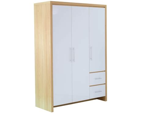 Free Standing Wardrobes by Wooden Three Door Free Standing Wardrobe Design Id559