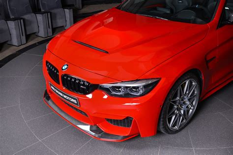 red ferrari ferrari red bmw m4 is delicious to look at carscoops
