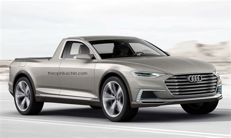 Audi As by 2015 Audi Prologue Allroad Imagined As A Truck