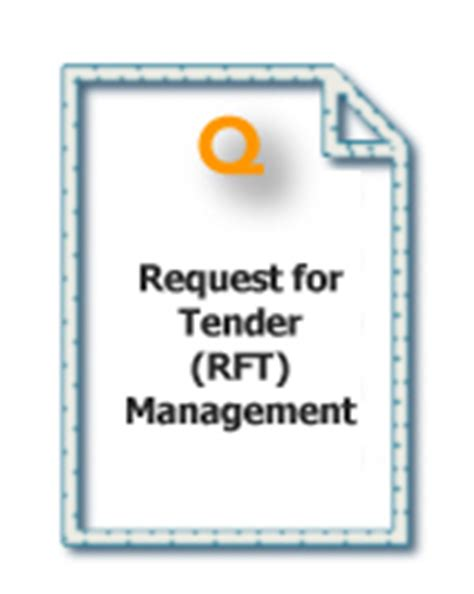 request for tender rft management quintessential services