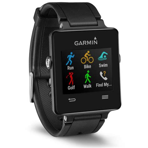 Garmin Vivoactive Gps Fitness Smartwatch Black Like New garmin vivoactive black sport fitness gps