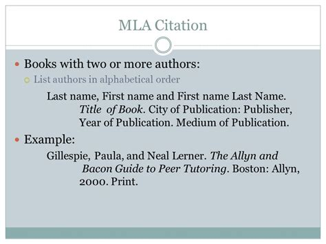How To Cite Pages In A Book In An Essay by Mla Format And Citations Ppt