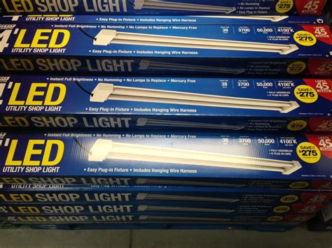 costco led light feit 4 led shop light 39 99 costco b m slickdeals net