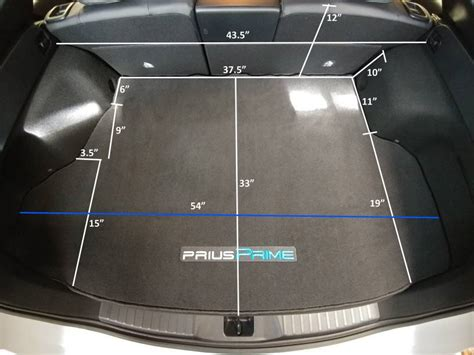 prius prime cargo space prime trunk space page 4 priuschat