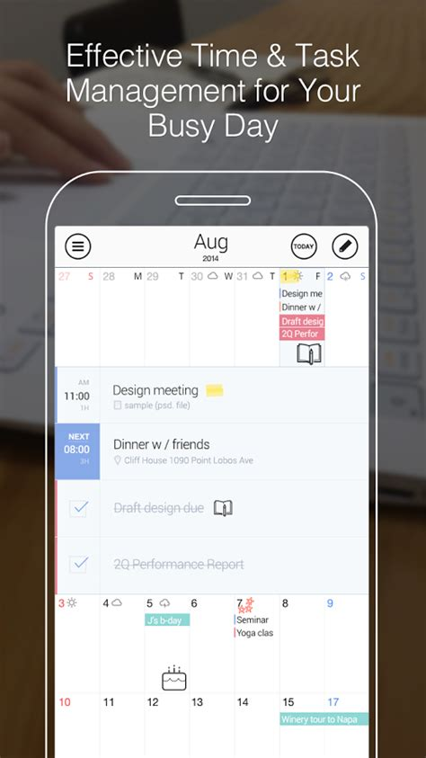 Calendars 5 Vs Fantastical 2 Best Android And Iphone Calendar Apps And Widgets 2015