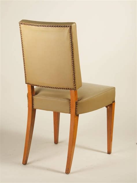 Maxime Old Set Of Six Dining Chairs In Ash For Sale At 1stdibs Ash Dining Chairs
