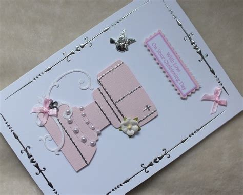 Handmade Christening Cards Uk - the 36 best images about handmade christening cards on