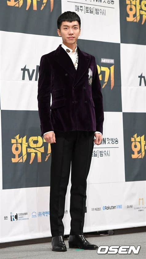 lee seung gi tv series actor lee seung gi attended press release for tvn tv
