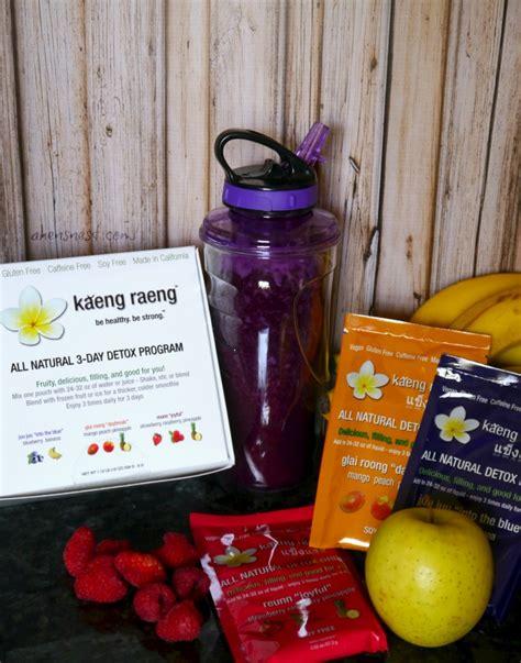 Kaeng Raeng Detox Reviews by Kaeng Raeng 3 Day Detox Cleanse Review