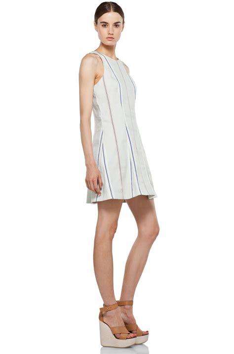 Hem Adeline Blue rag bone adeline dress in pale blue 3