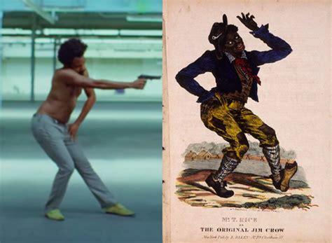 childish gambino jim crow poster childish gambino this is america video 9 cultural