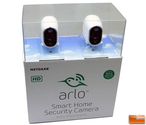 netgear arlo smart home security kit review page