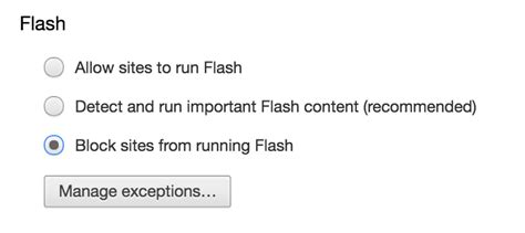 chrome enable flash disabling adobe flash and java plugins in ie safari