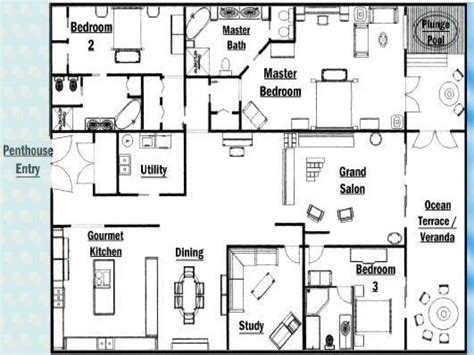 luxury penthouse floor plans unique master bedrooms luxury penthouse floor plans new