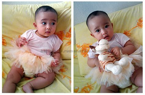 Renda Mahkota Kecil no sew tutu the