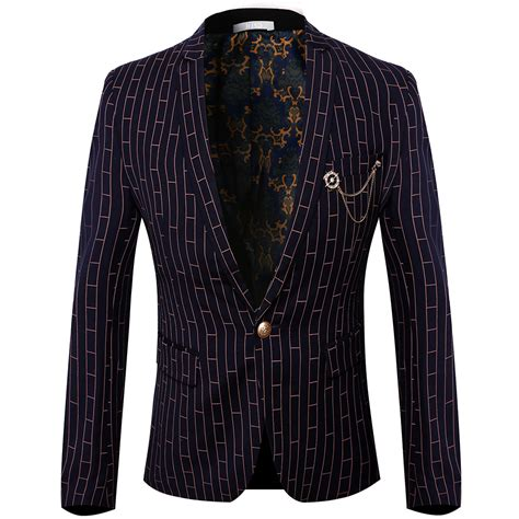 Top Blazer M Fit L Babyterry Quality quality 2016 new mens blazer suits for top