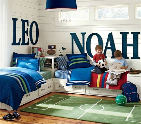 Big Boy Bedroom Ideas Soccer Themed Room Large Letters Child And Room