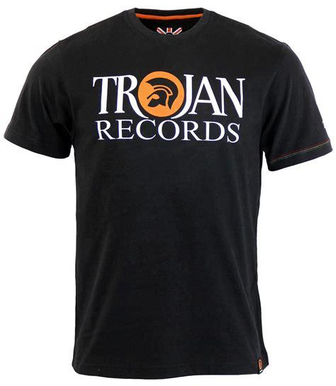 Tshirt Trojan Exclusive trojan records rtero mod ska signature logo t shirt in black