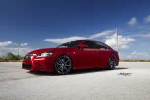 2013 Lexus Gs350 Wheels 2013 Lexus Gs350 Fsport Velgen Wheels Vmb8 Matte