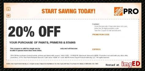 home depot march coupons printable coupons