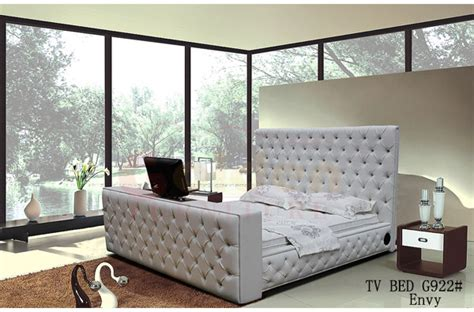 tv bed frame sale king size leather bed with automatic tv lift tv bed frame