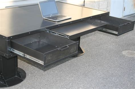 industrial desk with drawers combine 9 industrial furniture industrial desk with