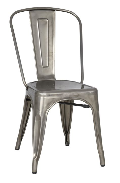 vintage metal dining chair