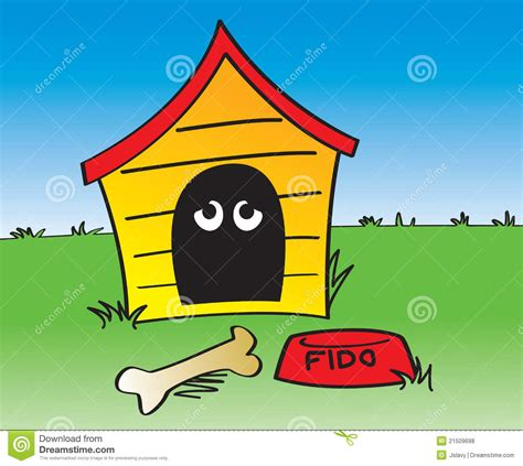 in the dog house idiom in the dog house royalty free stock photos image 21509698